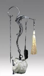 tools art nouveau fireplace fireplace set