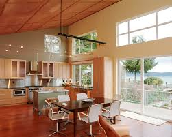 mobile kitchen island Kitchen Modern with chair high ceiling kitchen