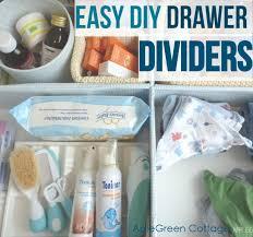 How-To: <b>DIY</b> Cardboard <b>drawer dividers</b> - AppleGreen Cottage