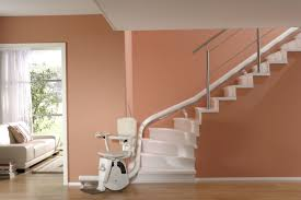 Curved stair chair lift Ameriglide Platinum How Beneficial Is The Curved Stair Lift Stairchair Lifts Design Details Stairchair Lifts Design Details How Beneficial Is The Curved Stair Lift Stairchair Lifts Design