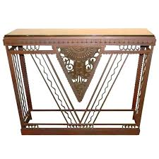art deco furniture design. Art Deco Furniture Style Pictures Of French Metal Console Design