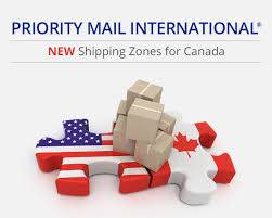 Priority Mail International New Shipping Zones For Canada