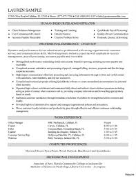 Resume Sample For Human Resource Position Human Resources assistant Resume Fresh Hr assistant Resume Sample 58