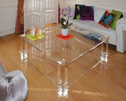 clear perspex coffee table transpa tables