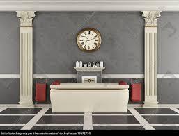 Luxus Badezimmer Mit Badewanne Lizenzfreies Bild 19672759