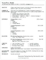 Resume Templates Download Ms Microsoft Office Publisher