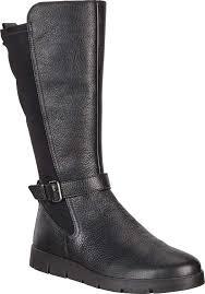 ecco bella gore tex tall leather boot women s