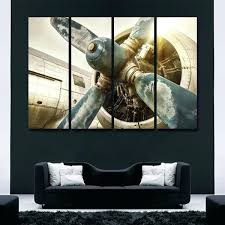 vintage airplane multi panel canvas wall art vintage airplane multi panel canvas wall art airplane canvas  on airplane canvas wall art canada with airplane wall art jumbo jet aviation canvas picture like this item