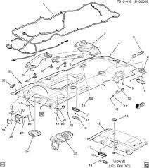 2005 2012 gm a c vent air deflector light opel color 15124269 gm parts catalog with part numbers at Gm Oem Parts Diagram