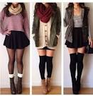 Tumblr skirts and boots photo