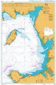 British Admiralty Nautical Chart 1826 Irish Sea Eastern Part
