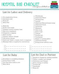 Hospital Bag Checklist What You Should Bring To The Hospital When