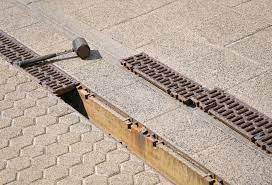 to clean your pool deck channel drain