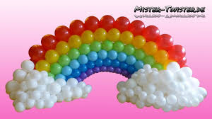 home design balloon rainbow decoration birthday ballon regenbogen