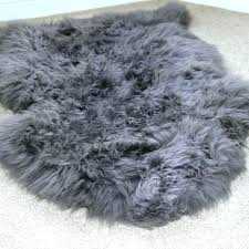 black faux fur rug large faux fur rug grey faux fur rug inside large sheepskin home