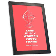 black wooden picture frame 24 x 30 inches