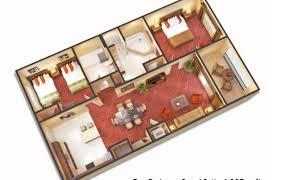Orlando Hotel 2 Bedroom Suites 3 Bedroom Suites Near Disney World Floridays Resort Orlando