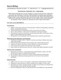 Food Prep Resume Interesting Kevin R Resume 48