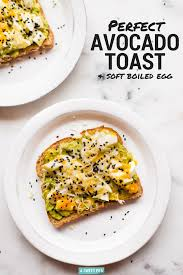 perfect avocado toast 5 delicious