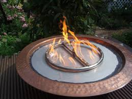 propane fire ring. Metal Fire Ring For Pits With Fireglass Propane