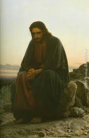 christ in the wilderness painting