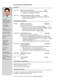 Resume Cv Template Cv Template Examples Writing A Cv Curriculum Vitae  Templates Free
