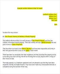 5 Sample Tenant Recommendation Letters Sample Templates