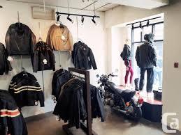 west coast leather fashion motorcycle