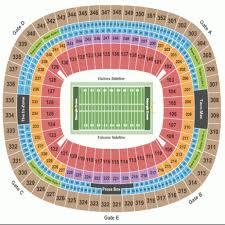Atlanta Falcons Seating Chart With Rows 75 Paradigmatic Georgia Dome Seat Views