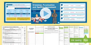 Spelling Test Template Enchanting SATs Survival Year 488 Grammar Punctuation And Spelling Test 48