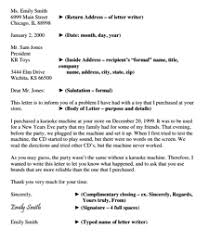 Letter To Business Template Letter Template Free Download Create Edit Fill And Print