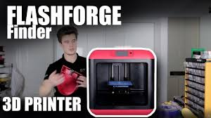 <b>FlashForge Finder</b> 3D Printer Review - The easiest cheapest 3D ...