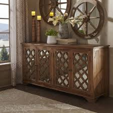 wood and mirrored furniture. hamptons quatrefoil reclaimed wood mirrored buffet sideboard cabinet by inspire q artisan and furniture