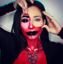makeup glamandgore demon makeup demon makeup work by dropdeadgotgeousartistry