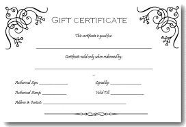 Gift Certificate Template Microsoft Word Best Microsoft Word Gift Certificate Template Free Anekanta