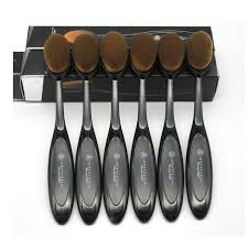 anastasia brush kit. anastasia oval makeup brush toothbrush curve foundation bb cream -- buyincoins.com kit