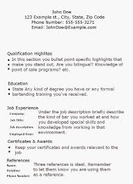 Resume Examples Objective Beautiful Simple Resume Sample Resume