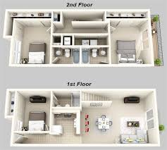 two story apartment floor plans luxury two story house plans 3d best crafty design 6 two story house