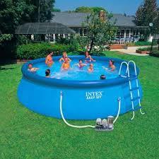 intex above ground swimming pool. Intex Easy Set Above Ground Swimming Pool Poolcenter