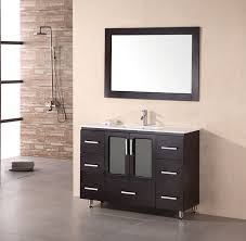 Small Picture 48 inch Modern Bathroom Vanity White Porcelain Sink Countertop