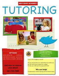 tutor flyer templates free beautiful tutor flyer templates free template ideas
