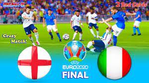 PES 2021 - England vs Italy - Final ...