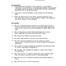 Secretary Job Description Resume Stna Resume Aaaaeroincus Pleasing Job Resume Outline Secretary for 50