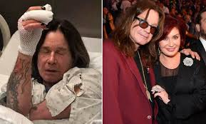 We got the black sabbath frontman and sharon osbourne out on new year's. Ozzy Osbourne S Wife Sharon Reveals What Makes Her Cry I Can T Do That Metalhead Zone