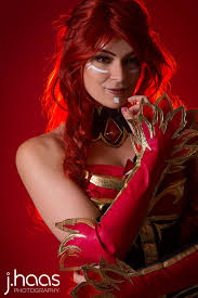 dota 2 lina bewitching flare by annalynncosplay on deviantart
