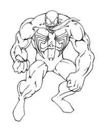 Più Ricercato Disegni Da Colorare Venom Arielcolorare