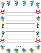 Christmas Writing Paper Template Free Christmas Border Paper Free Printable Under Fontanacountryinn Com