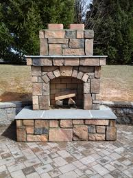 custom designed built outdoor fireplace fire pit in chimneyfree 3d rolling mantel fireplace with infrared quartz heater large chimney free fireplace