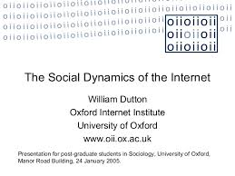 social dynamics of the internet