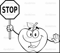 Small Picture Brilliant Traffic Signs Coloring Pages With Stop Sign For Stop